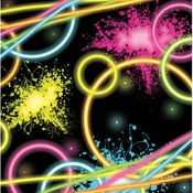 Glow Party Beverage Napkins 192 ct