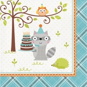 Happi Woodland Boy Luncheon Napkins 192 ct
