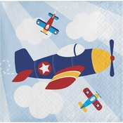 Toy Airplane Beverage Napkins 192 ct