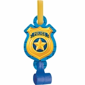 Police Party Blowers 48 ct