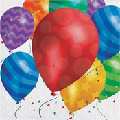Balloon Blast Luncheon Napkins 192 ct