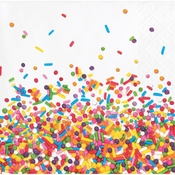 Confetti Sprinkles Beverage Napkins 192 ct