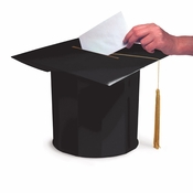 Mortarboard Shaped Graduation Card Boxes 6 ct
