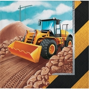 Big Dig Construction Beverage Napkins 192 ct