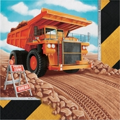Big Dig Construction Luncheon Napkins 192 ct
