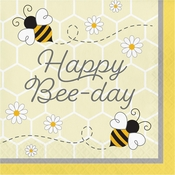 Bumblebee Happy Birthday Luncheon Napkins 192 ct