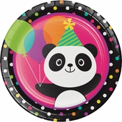 Panda-monium Dinner Plates 96 ct