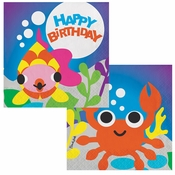 Ocean by French Bull Birthday Luncheon Napkins 240 ct