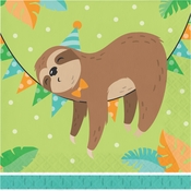 Sloth Party Luncheon Napkins 192 ct