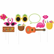 Luau Photo Booth Props 60 ct