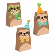 Sloth Party Paper Treat Bags 96 ct