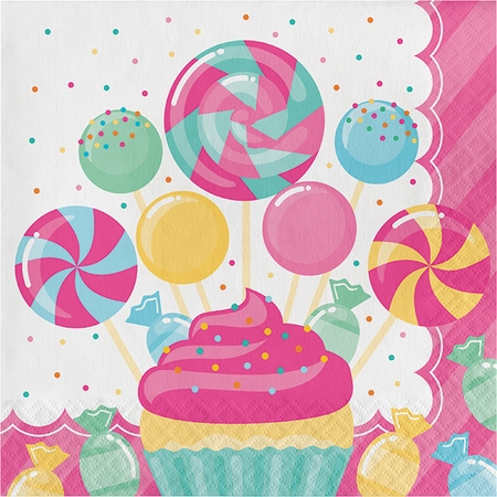 Candy Bouquet Luncheon Napkins 192 ct