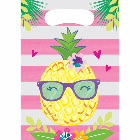 Pineapple Party Favor Bags 96 ct