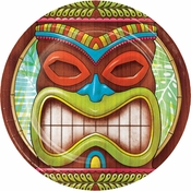 Tiki Time Dessert Plates 96 ct