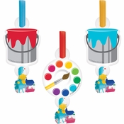 Art Party Party Blowers 48 ct