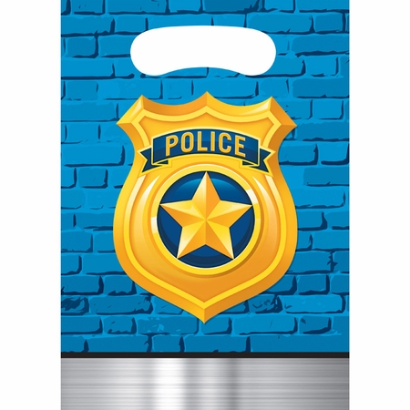 Police Party Favor Bags 96 ct