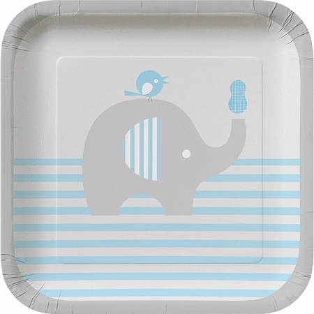 Little Peanut Boy Dessert Plates 96 ct