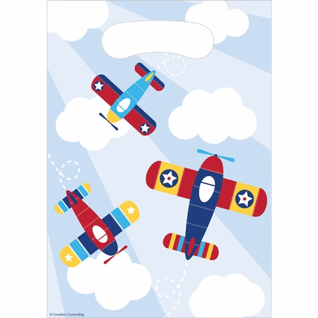 Toy Airplane Favor Bags 96 ct