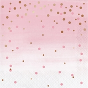 Rose All Day Polka Dot Luncheon Napkins 192 ct