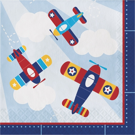 Toy Airplane Luncheon Napkins 192 ct