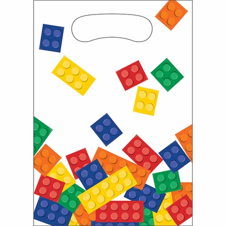 Block Party Favor Bags 96 ct