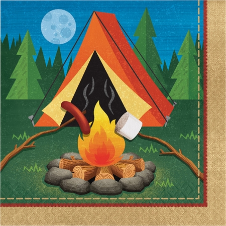 Camping Luncheon Napkins 192 ct