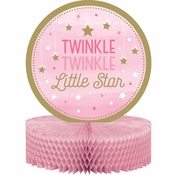 One Little Star Girl Centerpieces 6 ct
