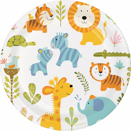 Happi Jungle Dinner Plates 96 ct