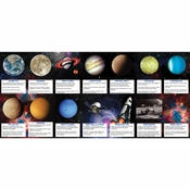 Space Blast Favors Fact Cards 168 ct
