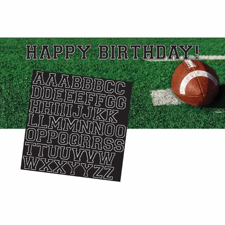 Tailgate Rush Giant Party Banner 6 ct