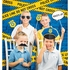 Police Party Photo Backdrops 6 ct