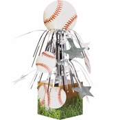 Baseball Centerpieces 6 ct