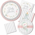 Country Floral Baby Shower Dessert Plates 96 ct