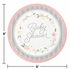 Country Floral Baby Shower Dinner Plates 96 ct