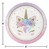 Unicorn Baby Shower Dinner Plates 96 ct