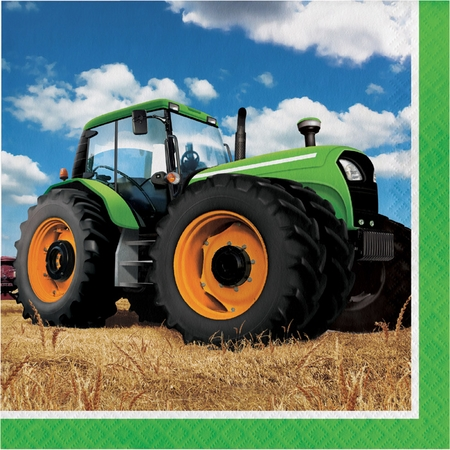 Tractor Time Luncheon Napkins 192 ct