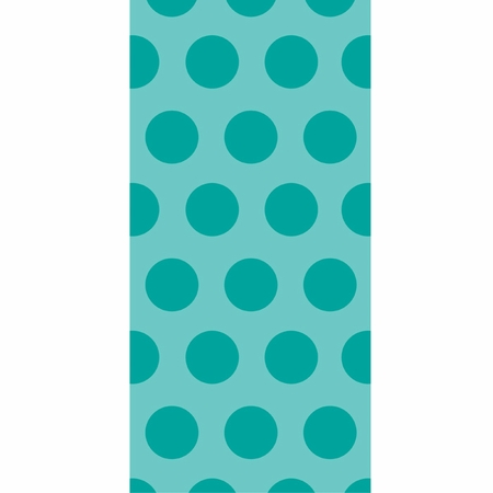 Teal Lagoon Polka Dot Favor Bags 240 ct