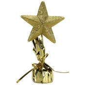 "12"" Glitter Gold Star Centerpieces 6 ct"