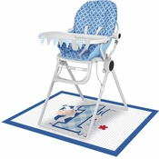 Farmhouse 1st Birthday Boy High Chair Kits 6 ct