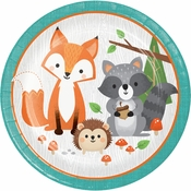 Wild One Woodland Dinner Plates 96 ct