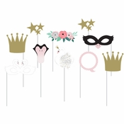 Stylish Swan Photo Booth Props 60 ct