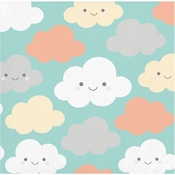 Clouds Beverage Napkins 192 ct