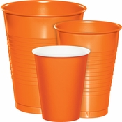 Wholesale Orange Party Cups