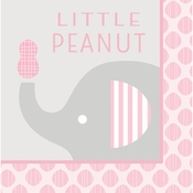 Little Peanut Girl Little Peanut Luncheon Napkins 192 ct