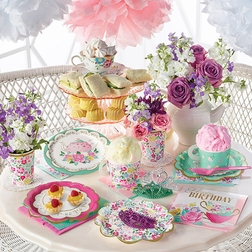 Floral Tea Party Party Supplies