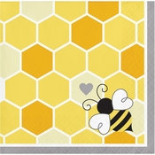 Bumblebee Baby Shower Beverage Napkins 192 ct