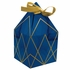 Navy Blue and Gold Foil Favor Boxes 48 ct