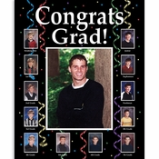 Graduate Through the Years Photo Frames 6 ct