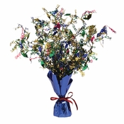 Graduation Mortarboard Foil Spray Centerpieces Assorted