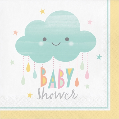Clouds Baby Shower Luncheon Napkins 192 ct